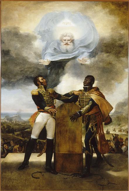 Serment des ancêtres, peint en 1822 par Guillaume Guillon
